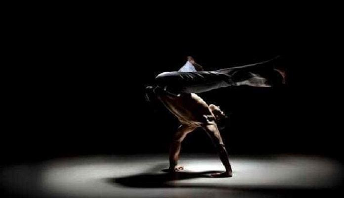 entrenamiento de capoeira