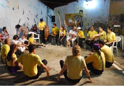 estilo Capoeira Angola en la Roda