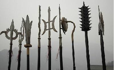 Alabardas: armas chinas shaolin del kung fu