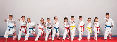 como aprender karate