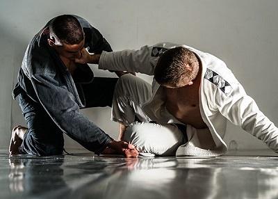 técnica de grappling en lucha de BJJ