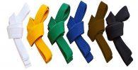 Los cinturones de Taekwondo