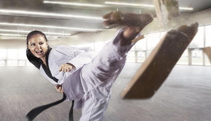 como es el karate
