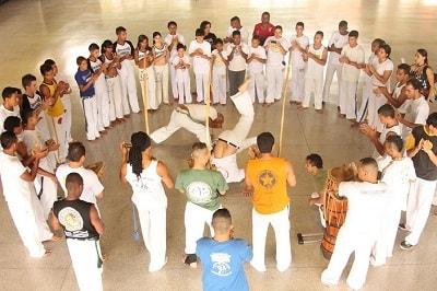 capoeira pasos