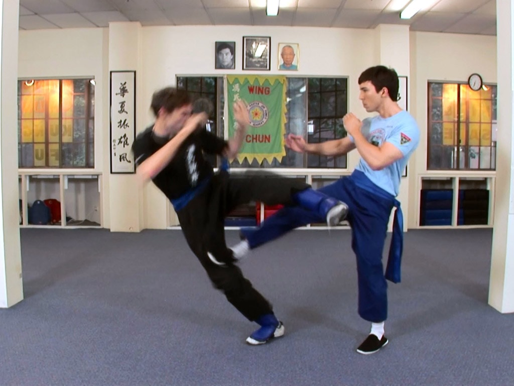 patadas de kung fu