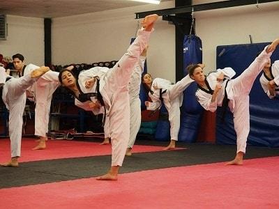 taekwondo tipos
