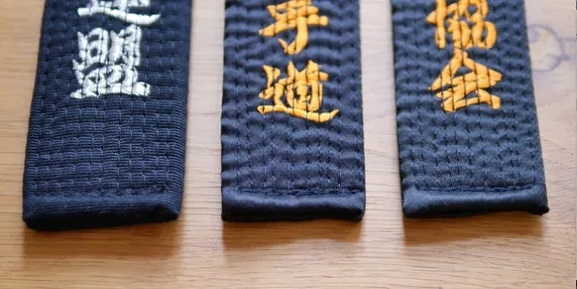 cinturones en karate